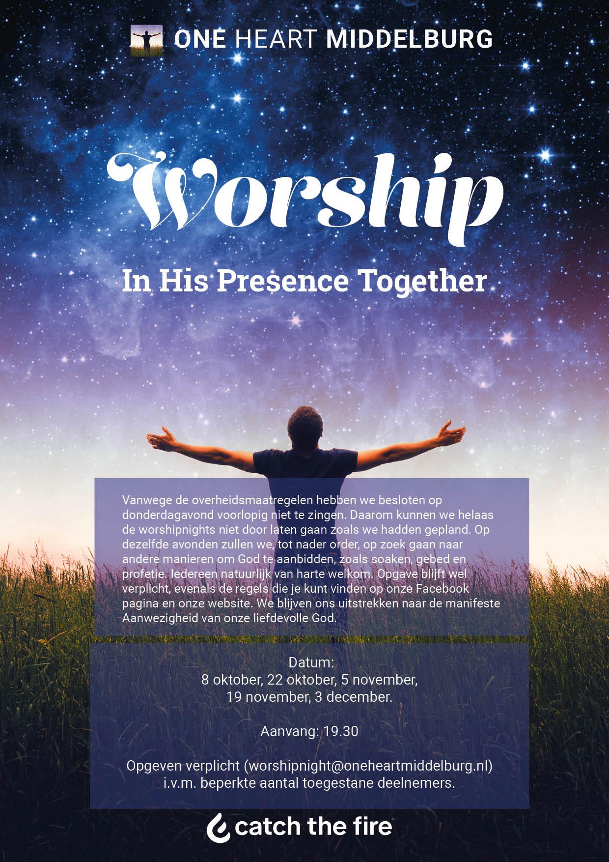 poster worshipnights